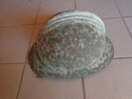 Casque Appartenant A Un Militaire Divisions Des Loups - Copricapi