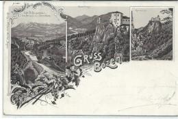 GIL315 - GRUSS AUS BOZEN - F. P. - VIAGGIATA 1897 - Bolzano (Bozen)