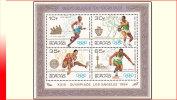 Burundi BL 0119**  Jeux Olympiques Los Angeles  MNH - Burundi