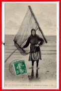 62 - Le TOUQUET - PARIS PLAGE --  Pêcheuse De Crevettes - Le Touquet