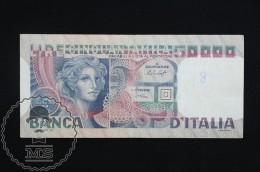 Italy 50000 Lire 1977 Banknote - VF - [ 2] 1946-… : República