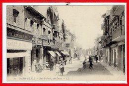 62 - Le TOUQUET - PARIS PLAGE -- Rue De Paris , Coté Ouest - Le Touquet