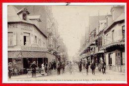 62 - Le TOUQUET - PARIS PLAGE -- Rue De Paris à La Hauteur.... - Le Touquet