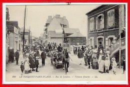 62 - Le TOUQUET - PARIS PLAGE -- Rue De Londres - Voitures Fleuries - Le Touquet