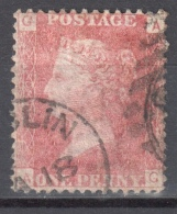 Great Britain 1858-79 - Queen Victoria, 1d Red - Mi.16 Plate 160 - Used - 1840-1901 (Viktoria)