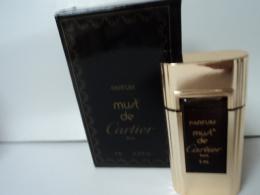 """CARTIER """"MUST  """" MINI  PARFUM  PUR  4 ML  LIRE ET VOIR!! - Miniaturen Flesjes Dame (met Doos)"""