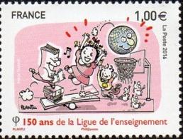 France N° 560615 ** Anniversaire De La Ligue De L´enseignement - France