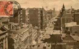 AUSTRALIE - Oblitération De Melbourne Sur Carte Postale Pour La France En 1923 - A Voir - L 1144