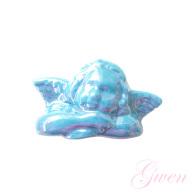 Feve Publicitaire Ange Bleu Monoprix - Characters