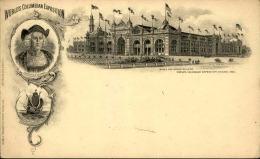 ETATS - UNIS - Entier Postal De L 'exposition De Christophe Colomb En 1893 - A Voir - L 1151