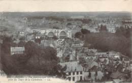 37 - Tours - Vue Panoramique Vers La Gare Prise Des Tours De La Cathédrale - Tours