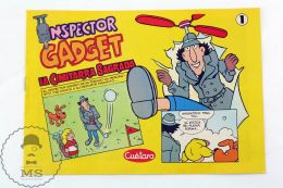 Inspector Gadget #1 Spanish Comic From 1987 - Cuetara Cookies Advertising - Libros, Revistas, Cómics