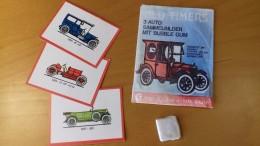 OLD TIMERS AUTO - LOT  1 TUTEN ALTE RAR VATU KAUGUMMI + BUBBLE GUM + 3 SAMMELBILDER - Alte Papiere