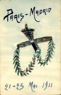 FRANCE - Carte Postale Avec Découpage De Timbres , Thème Aviation 1911 - A Voir - L 1160 - Timbres (représentations)