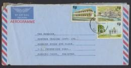 FIJI Postal History - Aerogramme Cover Postal Used 3.5.1991, As Per Scan - Fiji (1970-...)