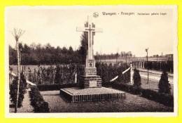 * Waregem - Ansegem * (Nels, Uitg Heugebaert) Heldenlaan Geheim Leger, Croix, Statue, Monument, Mémorial, Rare - Waregem