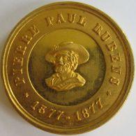 M01958  PIERRE PAUL RUBENS - SOUVENIR DU 300e ANNIVERSAIRE DE SA NAISSANCE - Anvers - 1877 Son Profil  (12g) - Belgium