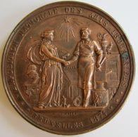 M05131  EXPOSITION NATIONALE DES ARTS INDUSTRIELS - BRUXELLES - 1874 (150g) Commission Directrice Au Revers - Professionals / Firms