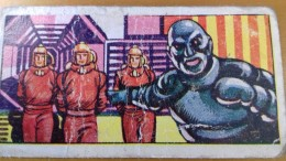 SPACE - SCI FI CARD - 1955 UK SPACE ADVENTURE - 32 - UFO SOCOUPE OVNI SCI FI - Chromo
