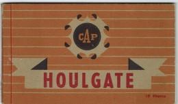 CPA - 14 - HOULGATE - Carnet De 10 Cartes Photos - Complet - Voir Liste - - Houlgate