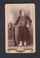 Photo Originale CDV Portrait Militaire Zouave ( Photo Lanzaro Alger   ) - Guerre, Militaire