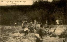CONGO BELGE - Entier Postal , Thème Pêcheurs - A Voir - L 1172