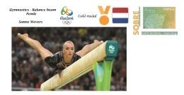 Spain 2016 - Olympic Games Rio 2016 - Gold Medal Gymnastics Female Pays Bas Cover - Juegos Olímpicos