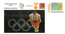 Spain 2016 - Olympic Games Rio 2016 - Gold Medal Gymnastics Male Belarus Cover - Juegos Olímpicos