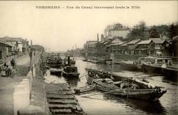 JAPON - Carte Postale De Yokohama , Vue Du Canal Traversant La Ville - A Voir - L 1174 - Yokohama