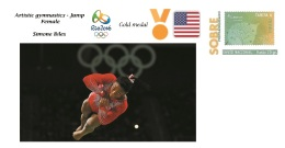 Spain 2016 - Olympic Games Rio 2016 - Gold Medal Gymnastics Female USA Cover - Juegos Olímpicos