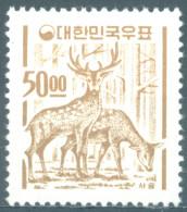 SOUTH KOREA - MNH/** - 1964 -  CERFS - Yv 306M Mi 454 - Lot 14456 - Korea (Zuid)