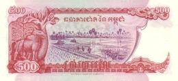 CAMBODIA P. 43a 500 R 1996 UNC - Cambodge