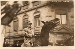 5753. CPA PHOTO GUERRE 14 18 WW1. MARECHAL FOCH A CHEVAL. 1918 - Personnages