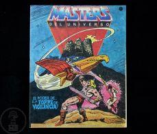 Original 1985 MOTU He Man Master Of The Universe Small Comic & Toy Catalogue - Acción, Aventuras
