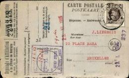 BELGIQUE - Carte Postale Réponse De Demande D 'affiliation De Retraite En 1965 - A Voir - L 1184