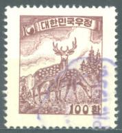 SOUTH KOREA - USED/OBLIT. - 1955 -  CERFS CERVUS - Yv 165 Mi 204x - Lot 14457 - Corée Du Sud