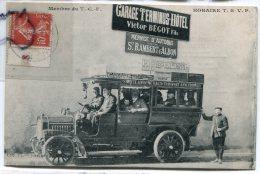 - St-Rambert-d'Albion - ( Drôme ), Autobus Des Auto Transport Anneyronnais, Garage Terminus Hôtel BEGOT, TBE, Scans.. - Autres Communes