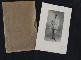 Photo D'officier Français , 1ère  GM , Photographe G.Sabot , Montbéliard - Oorlog, Militair