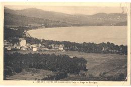 -83- CAVALERIE SUR MER - GRAND HOTEL DE PARDIGON Etplage - Neuve (plis Angle) Sinon TB - Cavalaire-sur-Mer