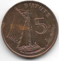 *gambia 5 Bututs 1971  Km 9  Unc - Gambia