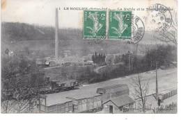 LE HOULME - La Vallée Et Le Tissage Butler - Train - France