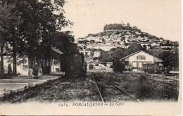 04 FORCALQUIER La Gare - Forcalquier