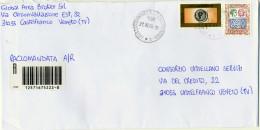 B307 2006 Raccomandata Con 2,80€ Alti Valori + 0,60€ Posta Prioritaria 2004 - 6. 1946-.. Republic