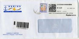 B310 2006 Raccomandata Con 3,00€ Alti Valori + TP Label - 6. 1946-.. Republic