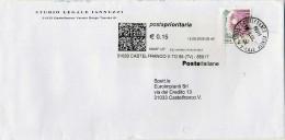 B324 2006 Busta Con 0,45€ Donne Nell´arte + TP Label - 6. 1946-.. Republic