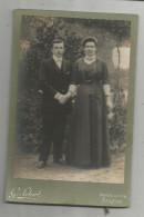Photographie LEBERT & DUFOURD , CHATEAU DU LOIR , Sarthe , 14.5 X 10 , Couple , Frais Fr : 1.55€ - Personnes Anonymes