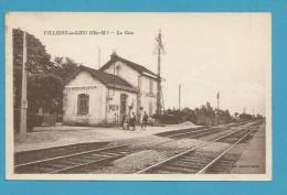 CPSM - Chemin De Fer La Gare VILLIERS-EN-LIEU 52 - Other Municipalities