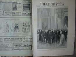 L'ILLUSTRATION 2412 L'EXPOSITION/ BRUXELLES/ MASSENET/ CANONS 18/05/1889 PAGE 417 GRAVURE PLEINE PAGE LES FETES DE L'EXP - Journaux - Quotidiens