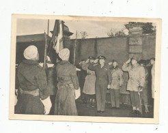Cp , Militaria , Libération De L'ALSACE , Guerre 1939-45 , Le Général Eisenhower Et Le Général De Lattre .... - Guerra 1939-45