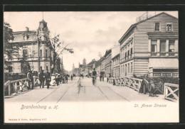 AK Brandenburg, St. Annen Strasse - Brandenburg